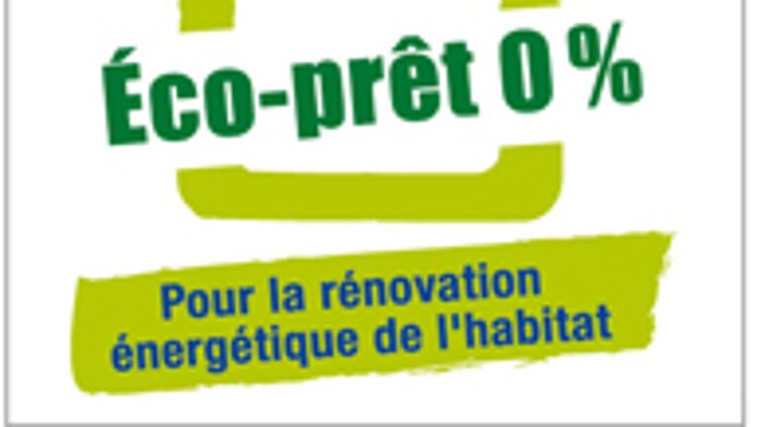 Eco-prêt Taux zéro