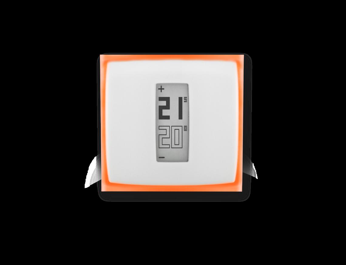 netatmo thermostat connect pour controler le chauffage distance. Black Bedroom Furniture Sets. Home Design Ideas
