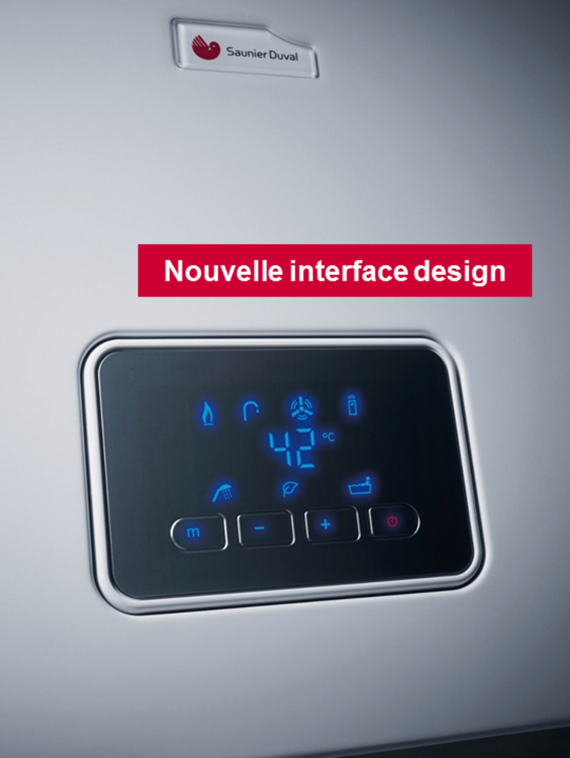 Opalia F Bas-NOx - Nouvelle interface