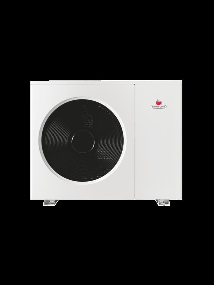 Pompe chaleur air eau saunier duval - Pompe a chaleur monobloc interieur ...